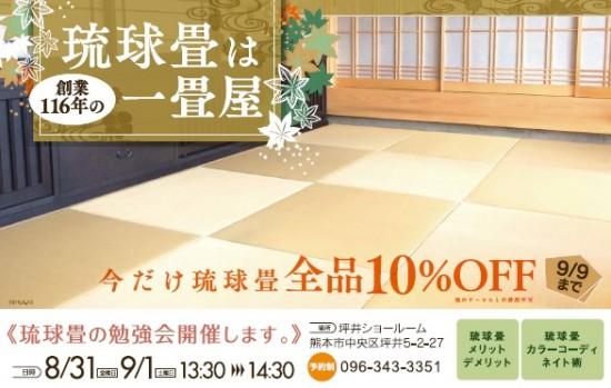 琉球畳チラシ